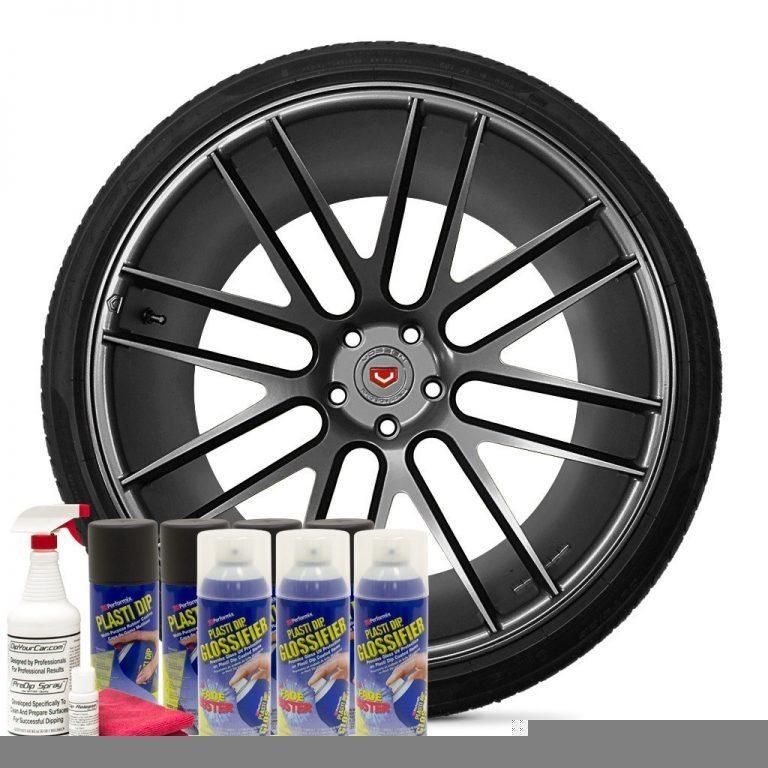 Plasti Dip Velgen Kit Gloss Gunmetal Gray