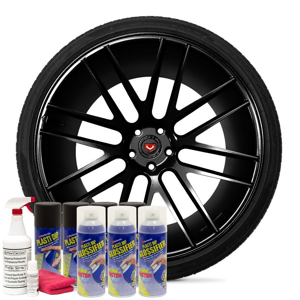 Plasti Dip Velgen kit Gloss Black