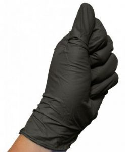 COLAD Nitril Handschoenen Zwart