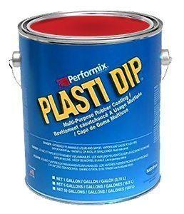 Plasti Dip Gallon Mat Rood